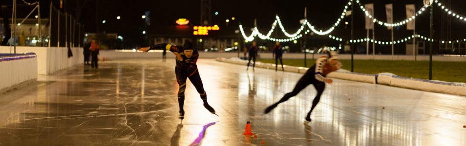 Clubkampioenschappen schaatsen
